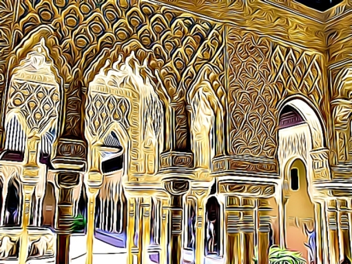 alhambra cartoon